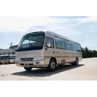 China Luxury Travel 30 Seater Minibus Lever Foot Pedal Sightseeing CUMMINS Engine for sale