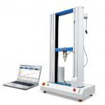 Leather Tensile Testing Machines , Computer Servo Electrical Test Equipment RS232 for sale