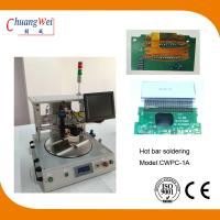 Extremely Short Cycle Time Hot Bar Soldering Machine With 0.25mm Pitch for sale