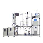 China Automatic Herb Extraction Equipment Hemp Oil Short Path Distillation Machine for sale