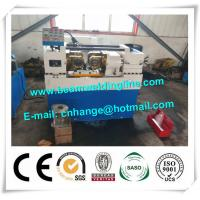 Rebar CNC Drilling And Threading Machine , Steel Rod Threading Machine for sale