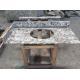 China White Stone Slab Countertop Bianco Antico Granite Slab Prices Prefab Kitchen for sale