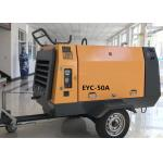 High Efficiency 50KW Portable Diesel Air Compressor Industrial Screw Air Compressors for sale