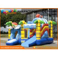 Commercial 0.55mm Vinyl Inflatable Bouncer Slide Fire Retardant And Water - Proof for sale