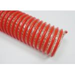 China 4 Inch Spiral Reinforced Flexible PVC Heavy Duty Pipe Hose for Sand Blast Suction for sale