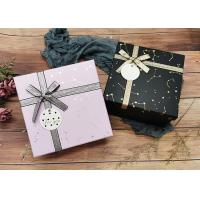 Constellation Printing Gift and Shopping Boxes With Shiny Belt for sale