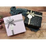 Constellation Printing Gift And Shopping Cardboard Storage Boxes With Shiny Belt for sale