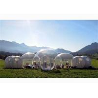 New Design Half Transparent Inflatable Bubble Tent with Five Rooms for Sale for sale