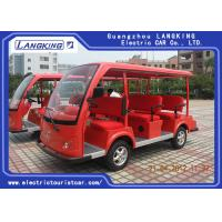 China 8 Seats Electric Sightseeing Bus 4 Wheel Electric Shuttle Car for Resort  Park for sale