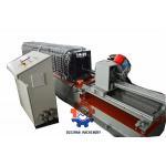Aluminium/ PPGI Window curtain roll forming machine with servo following cutting