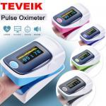 House Hold Led Screen Human Blood Saturation Detector Smart Fingertip Pulse Oximeter for sale