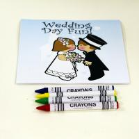 Customized Soft Cover Painting Book Printing Drawing Book With Crayon For Kid for sale