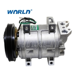 Auto AC Compressor For Nissan Truck Lorry DKS15C 4PK New Model 24 Voltage Original Compressors