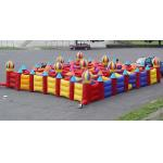 Outdoor Inflatable Maze Games For Outdoor Amusement Park Games for sale