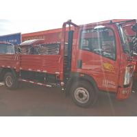 High Attendance HOWO Light Tipper Truck With 4200*1810*400mm Cargo Body for sale