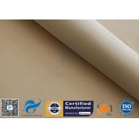 High Silica Woven Fabric 1200℃ Welding Heat Resistant 1200GSM 39 Brown for sale
