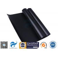China Black 0.008 Non Stick Silicone Baking Mat Food Grade PTFE Teflon For BBQ / Grill for sale