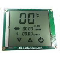 Metal PINs LCD Panel Screen Customized TN Segment For Water Heater Positive for sale