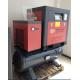 China Energy Saving Small Air Compressor , 7.5kw 10hp Screw Type Air Compressor for sale