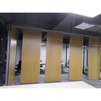 Modern Room Divider Folding Doors Acoustic Partition Wall For Banquet Hall for sale