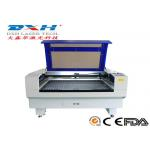 China Fabric / Leather Laser Engraving Machine 60 Watt Co2 Laser Engraver 0-800mm/S for sale