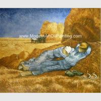China Custom Vincent Van Gogh Oil Paintings Reproduction La Sieste For Coffee Stores Decor for sale