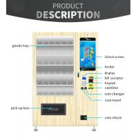 China Journal Note Book Automatic Vending Machine With Simple And Comfortable Appearance for sale