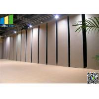 Safety Partition Retract  Acoustic Room Dividers  Precise Welding for sale