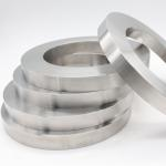 Round Titan Material Ring , Titanium Alloys Good Thermal Conductivity for sale