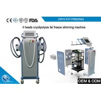 Non Invasive Cryolipolysis Machine Fat Freezing For Body Slimming with 4 handle for sale