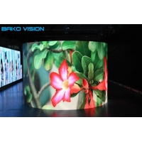 P3.91/P4.81 Rental LED Display Curved Video Wall for Stage Wedding Die-casting Cabinet for sale