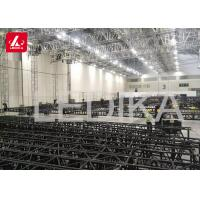 High Concert Aluminum Square Truss , Screw Heavy Duty Truss Roof System for sale
