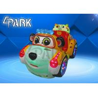 China Metal + Glassfibre Kiddy Ride Machine , Kids Ride On Car For Amusement Playground for sale