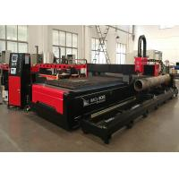 Thick Metal Plate and Steel Tube CNC Plasma Metal Cutting Machine with USA Hypertherm for sale