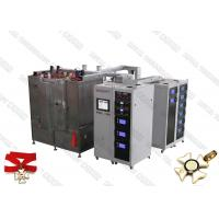 CE Certified PVD Arc evaporation system, Zinc Alloy Product Gold Plating, Zamak PVD TiN Coating Machine for sale