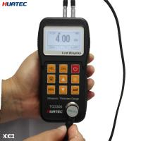 Plastic 0.75mm - 300.0mm measure range Ultrasonic thickness gauge , UT thickness gage for sale
