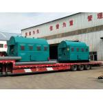 China 6t 4.2MW Coal Fired Hot Water Boiler Nature Circulation for sale