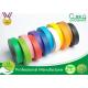 High flexibility Rainbow Coloured Masking Tape For Painting , Easy To Remove for sale