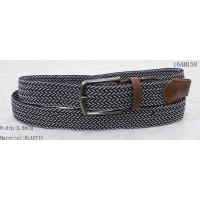 China Classic Mixed Colors Stretch Belts For Mens Matt Gun Metal Pin Buckle for sale