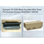 Kyocera Toner Cartridge 1T02NX0NL0 TK3150 Black For EcoSys M3040IDN Printer for sale