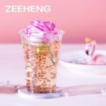 Large Disposable Clear Cold Drink Beverage PET Plastic Cups 20oz for Juice shop for sale