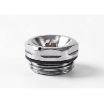 High Pressure 1/2 Inch Radiator Vent Plug Iron / Copper Material
