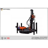 Steel Crawler Chassis Water Drilling Machine , Water Drilling Rig With Air Compressor for sale