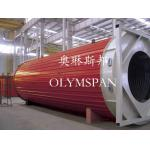 China Hot Oil Fired Horizontal Thermal Oil Boiler High Efficiency For Plastic / Rubber for sale