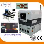 High Accuracy FPC / Rigid - Flex PCB Laser Depaneling Machine 10W / 12W for sale