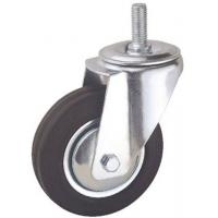 China 5 inch rubber roller ball casters for sale