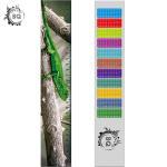 High Definition Motion 3D Lenticular Ruler Animal Design For Students for sale