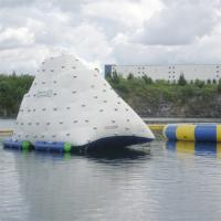 White Giant Inflatable Iceberg For Water Sport Customized Size 3 Years Warranty for sale