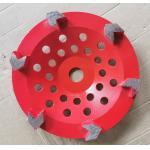 Arrow segment Diamond Cup Diamond Grinding Wheels Grinding Concrete With Customized Color