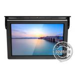 15 Inch Mini Android 7.1 Bus Digital Signage 3G GPS LCD Bus Player With Teamviewer for sale